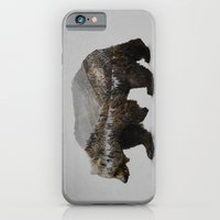 paint iPhone & iPod Cases featuring The Kodiak Brown Bear by Davies Babies