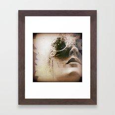 Masking The Stereotypes Framed Art Print