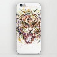 Tatewari Ute'a Tiger iPhone & iPod Skin