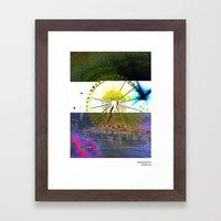 //RIE/SENRAD+BLAU Framed Art Print