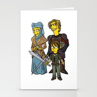 Game Of Thrones Cast 2 Stationery Cards