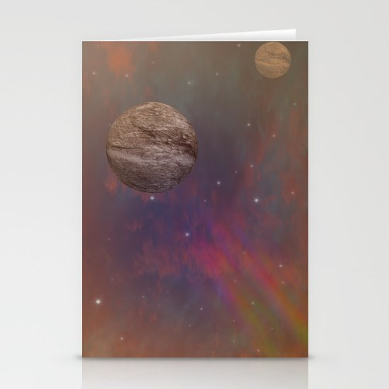 Space Stationery Card