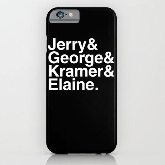 Seinfeld Jetset iPhone & iPod Case