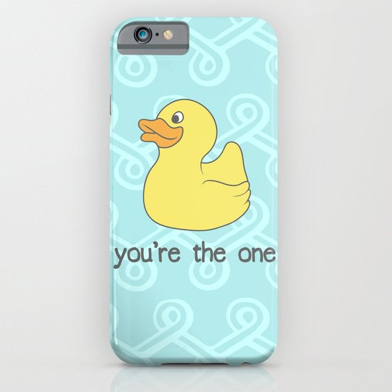 Rubber Duckie iPhone & iPod Case