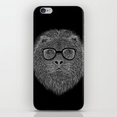 WHITE LION iPhone & iPod Skin