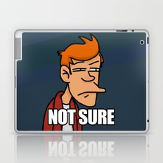 Fry is not sure Laptop & iPad Skin