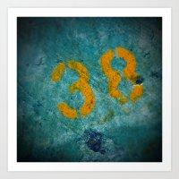 38 Art Print