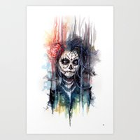 Sugar Skull - Calavera D… Art Print