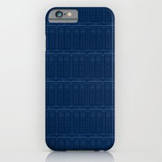 TARDIS Blueprint Pattern - Doctor Who iPhone 6s Slim Case