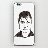 Biro Drawing Of The Acto… iPhone & iPod Skin