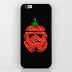 Strawberry Stormptrooper iPhone & iPod Skin