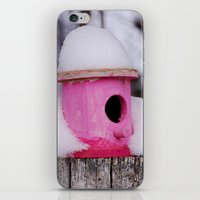 Pink House iPhone & iPod Skin