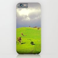 iPhone & iPod Case featuring Green Pastures by Chris' Landscape Images of Australia