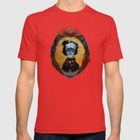 Poe in Color (variant) Mens Fitted Tee Red SMALL