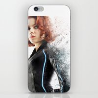 Black Widow iPhone & iPod Skin
