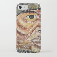 indian iPhone & iPod Cases featuring Indian by Lia Bernini
