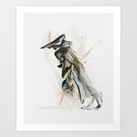 Drift Contemporary Dance… Art Print