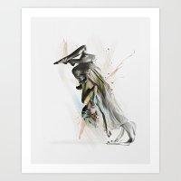 Drift Contemporary Dance… Art Print