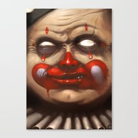 Hide Your Children Canvas Print