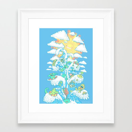 Tower of Fable Framed Art Print