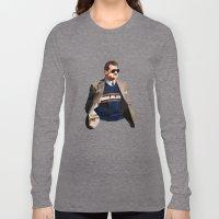 Geometric Ditka Long Sleeve T-shirt