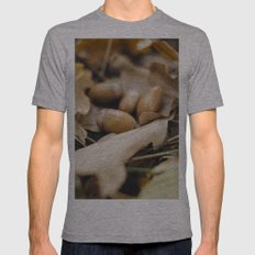 Acorns Mens Fitted Tee Athletic Grey SMALL