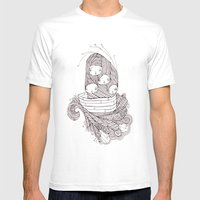 Ship Of Fools Mens Fitted Tee White SMALL
