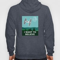 I WANT TO BELIEVE - Star… Hoody
