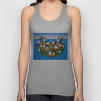 Dream House Island Unisex Tank Top