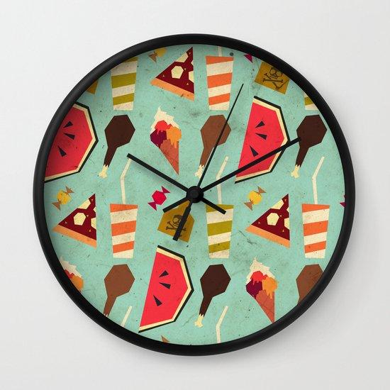 Yummy! Wall Clock