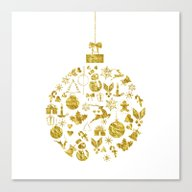Christmas Ball  Canvas Print