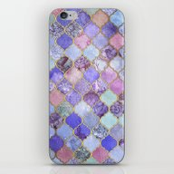 Royal Purple, Mauve & In… iPhone & iPod Skin