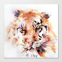 Tiger  Panthera . . .  Canvas Print