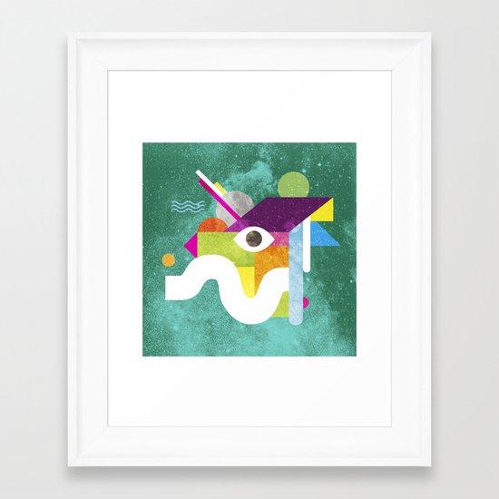 Mythical Float Rate. Framed Art Print