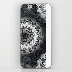 MONOCHROME BOHOCHIC MANDALA iPhone & iPod Skin
