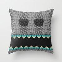 Vvvvv Throw Pillow