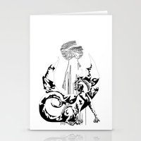 A Dragon from your Subconscious Mind Stationery Cards