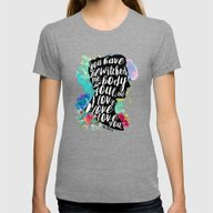 Mr.Darcy - I Love You Womens Fitted Tee Tri-Grey SMALL