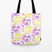 Jack in the Box 2 tone  Tote Bag