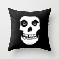 pixelated punk. Throw Pillow