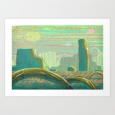 Canyon Art Print