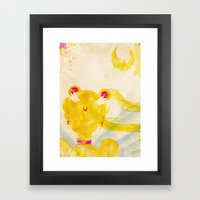 Sailor Moon Framed Art Print