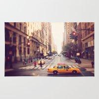 NYC Taxi Rug