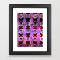 Bohemian Night Sky -Purple Framed Art Print