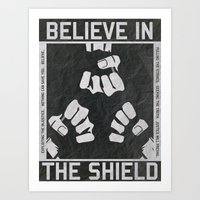 The Shield - WWE Art Print
