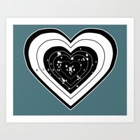 Don't Use My Heart For T… Art Print