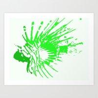 Scorpleonfish 1.3 Art Print