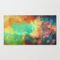 Cloudy in Paradise Canvas Print