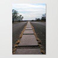 Glenrio, NM/TX, Route 66 IV Canvas Print