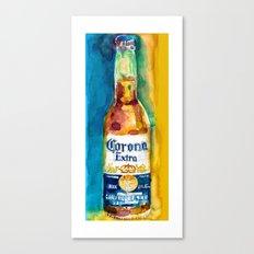 Corona Beer Canvas Print